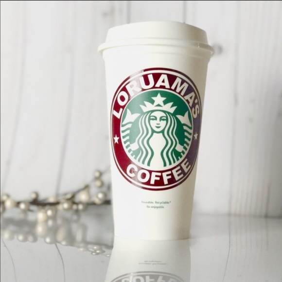 Personalized Starbucks Cups